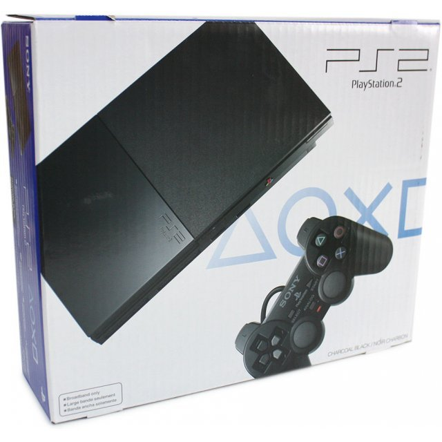 PlayStation2 Console Slim Black (Charcoal Black)