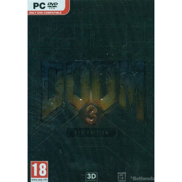 doom 3 bfg edition  dvd