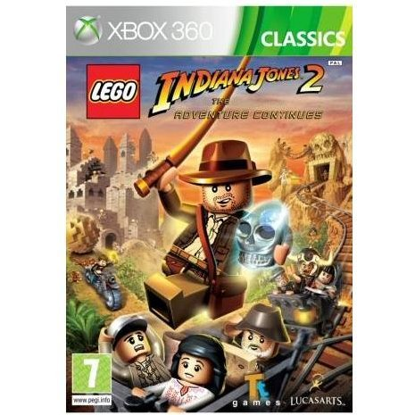 LEGO Indiana Jones 2: The Adventure Continues (Classics)