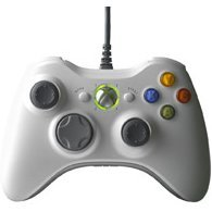 Microsoft Xbox360 Wired Controller for Windows (White)