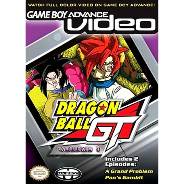 Game Boy Advance Video: Dragon Ball GT - Volume 1
