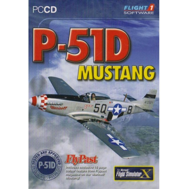 P-51D Mustang AddOn for Flight Simulator X