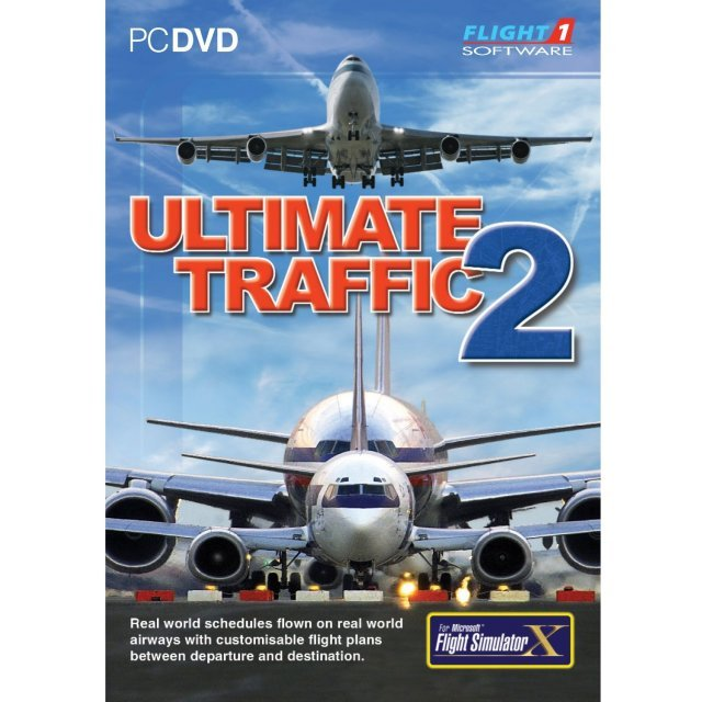Ultimate Traffic 2 AddOnfor Flight Simulator X (DVD-ROM)