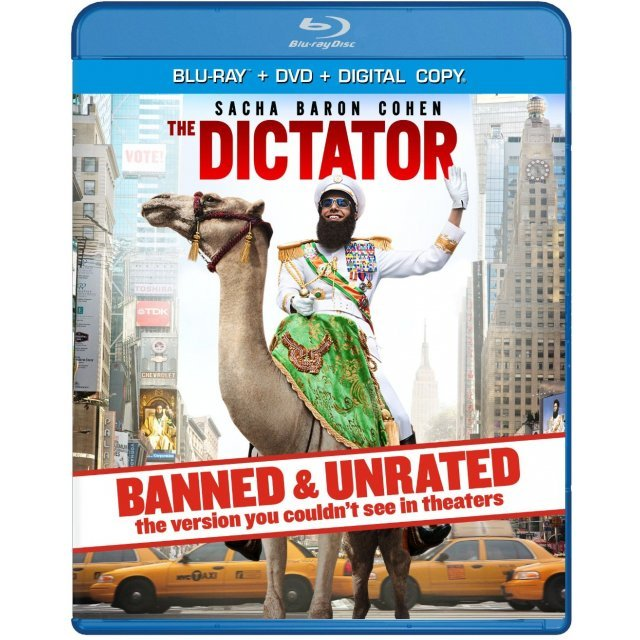 The Dictator Banned & Unrated