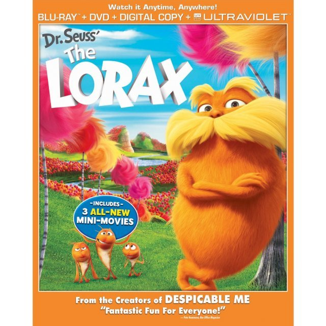 The Lorax [Blu-ray+DVD+Digital Copy+UltraViolet]