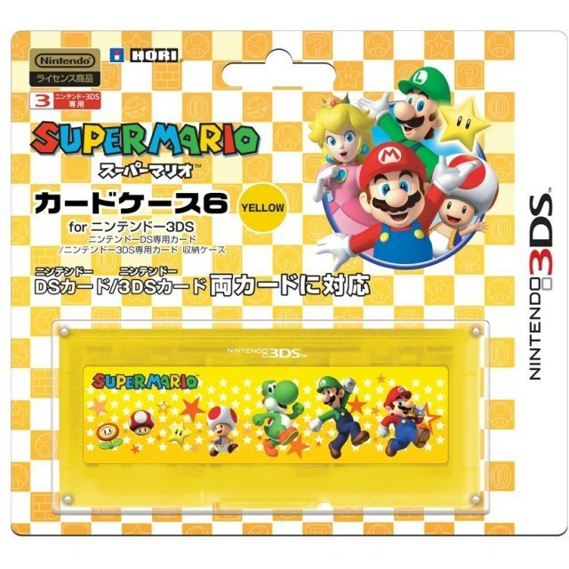 Super Mario Card Case 6 (Yellow)