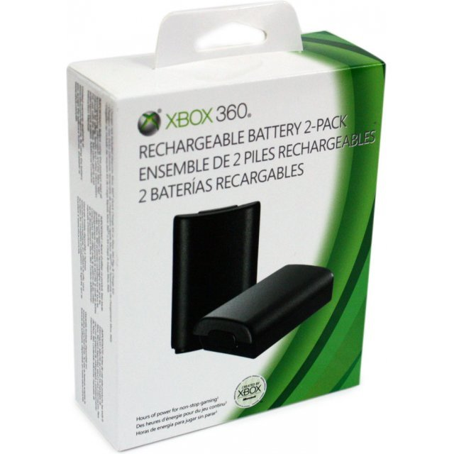 Xbox 360 Rechargeable Battery 2-Pack