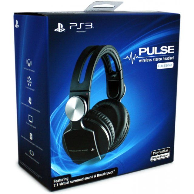 Sony PlayStation Pulse Headset Elite Edition (US)