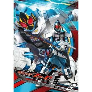 Kamen Rider Fourze Vol.8