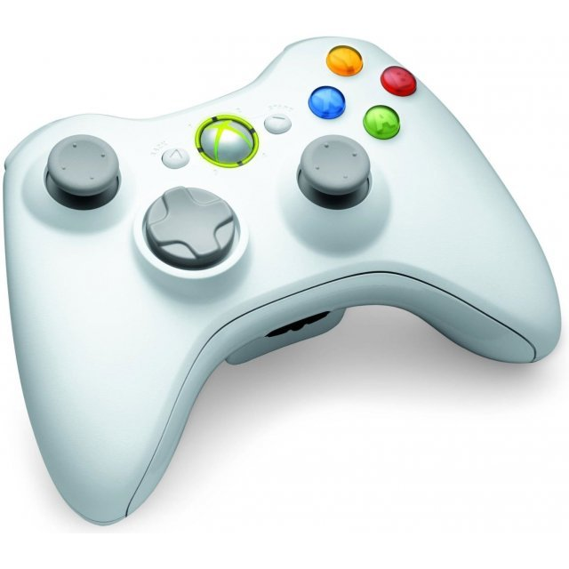 Xbox 360 Wireless Controller (Ghost White)