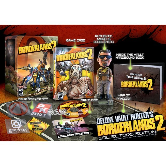 Borderlands 2 (Deluxe Vault Hunter's Collector's Edition)