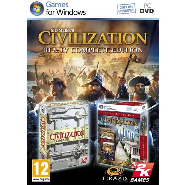 Sid Meier's Civilization III & IV Complete Edition (DVD-ROM)