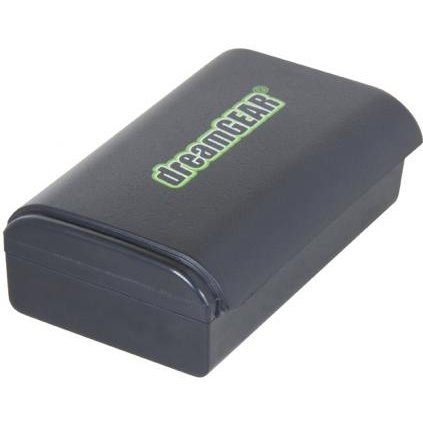 DreamGear Power Brick Rechargeable Battery Twin Pack (Black)