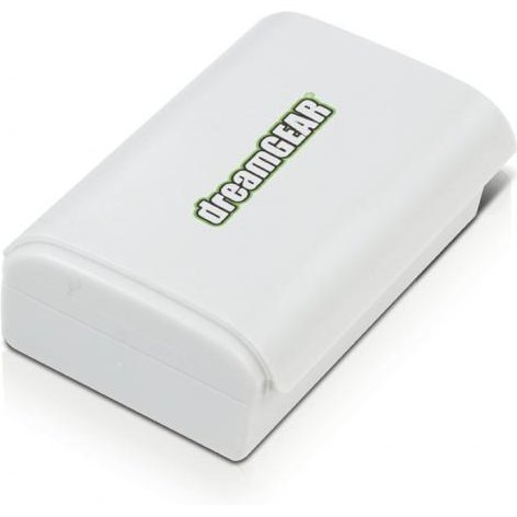 DreamGear Power Brick Rechargeable Battery (White)
