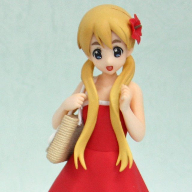 K-On! DX Non Scale Pre-Painted PVC Figure: Tsumugi Summer School Ver.