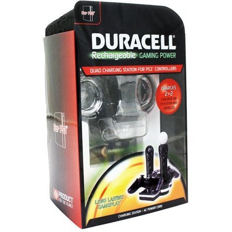 Duracell Rechargeable Gaming Power for PS3 Move Controller (DURACELL D3701)