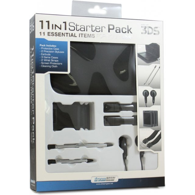 DreamGear 11-in-1 Starter Pack (Black)