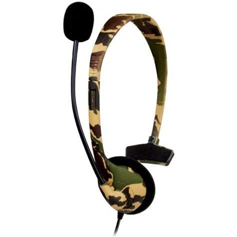 DreamGear Broadcaster Headset (Camo)
