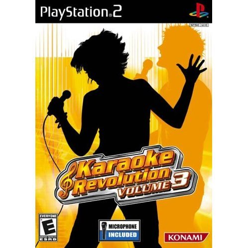 Karaoke Revolution Volume 3 (w/ Microphone)