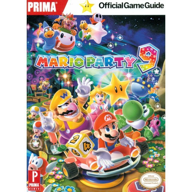 Mario Party 9: Prima Official Game Guide