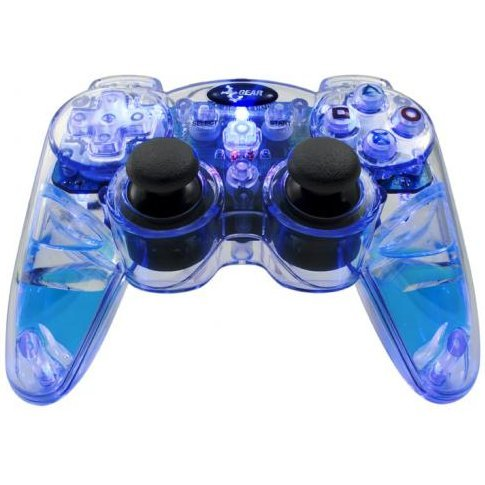 DreamGear Lava Glow Wired Controller (Blue)