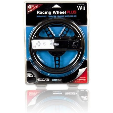 DreamGear Racing Wheel PLUS - Black