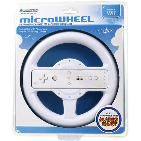DreamGear micro Wheel - White