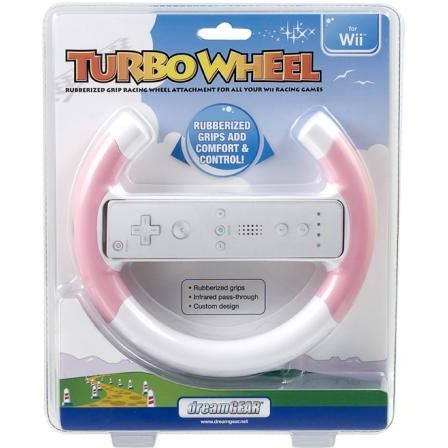 DreamGear Turbo Wheel - Pink