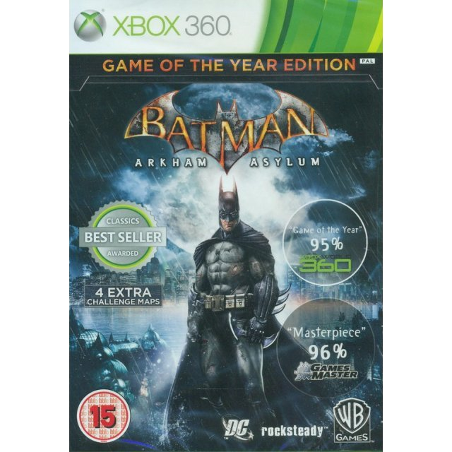 Batman: Arkham Asylum [Game of the Year Edition] (Classics)