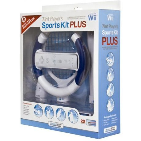 DreamGear 7 In 1 Player's Sports Kit PLUS - White