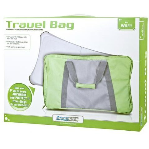 DreamGear Travel Bag - Green and Gray