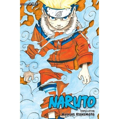 Naruto: 3-in-1 Edition, Vol. 1