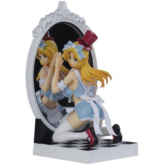 Fairy Tale Figure Vol.3 1/8 Scale Pre-Painted PVC Figure: Alice in Mirror World Blue Dress Ver.