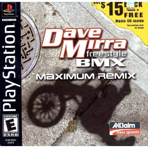 Dave Mirra Freestyle BMX: Maximum Remix