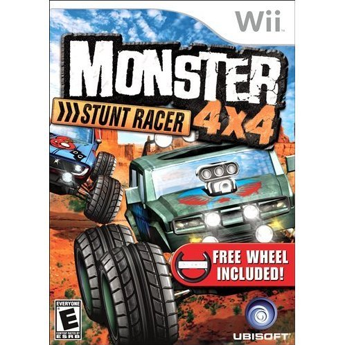 Monster 4x4: Stunt Racer (w/ Wheel)