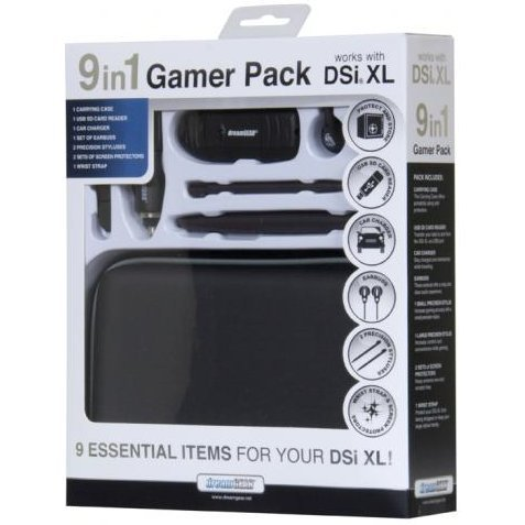 DreamGear 9 in 1 Gamer's Pack - Bronze