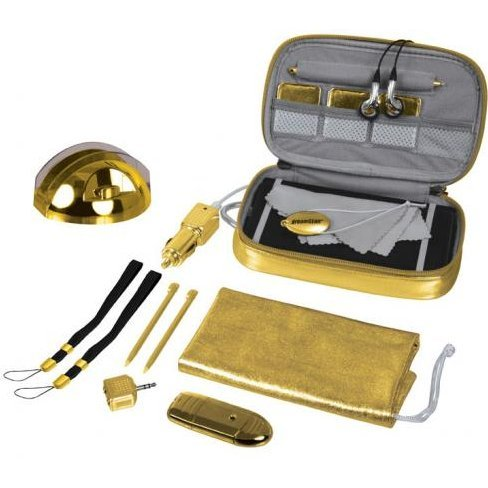 DreamGear 20 in 1 Starter Kit for DSi XL - Gold