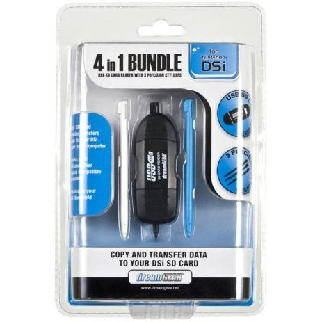 DreamGear 4 In 1 Bundle for DSi - Assorted