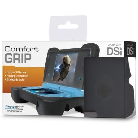 DreamGear Comfort Grip - Transparent Black
