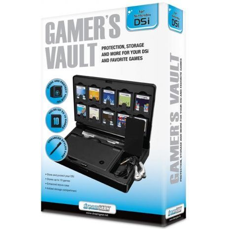 DreamGear Gamer's Vault - Black