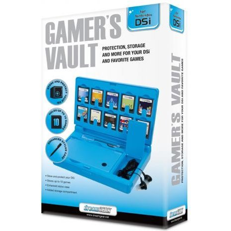 DreamGear Gamer's Vault - Blue
