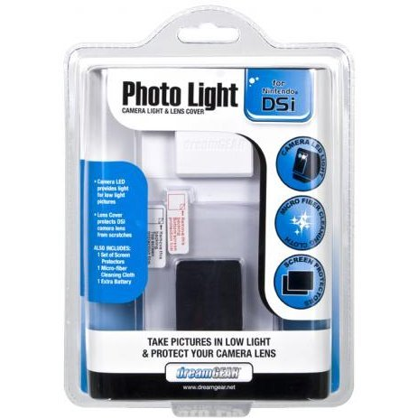 DreamGear Photo Light - White