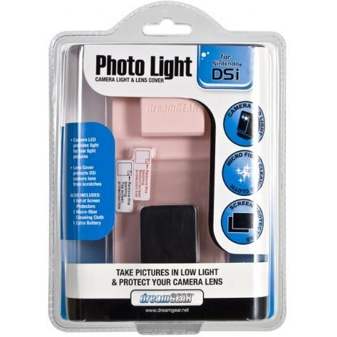 DreamGear Photo Light - Light Pink