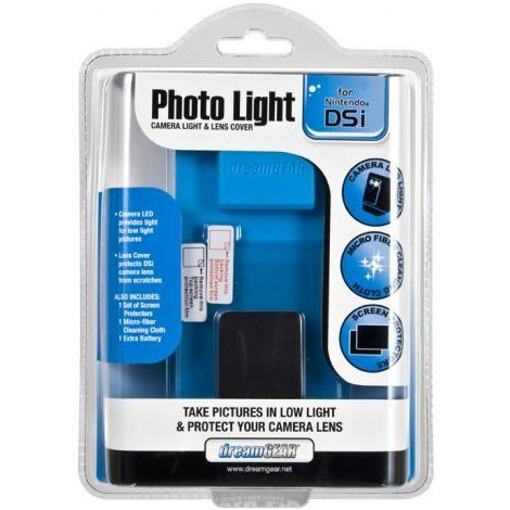 DreamGear Photo Light - Blue
