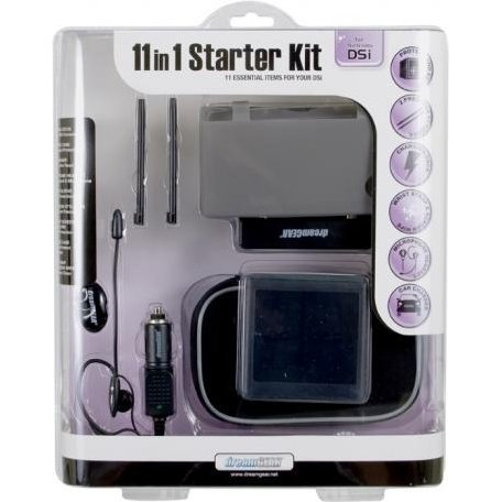 DreamGear 11 in 1 Starter Kit - Black