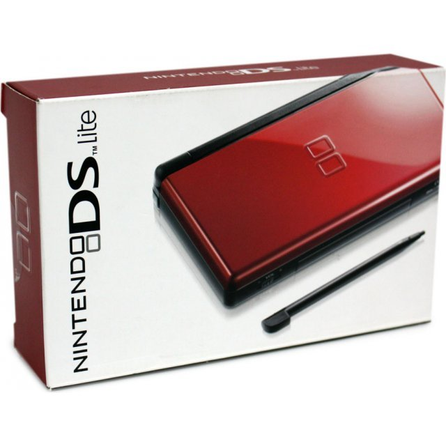 Nintendo DS Lite (Crimson/Black) - 110V