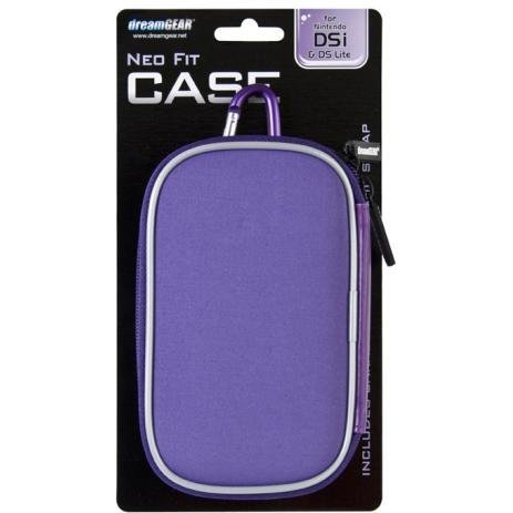 DreamGear Neo Fit Case - Purple