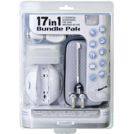 DreamGear 17 in 1 Bundle Pack - Polar White