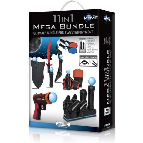 DreamGear 11 in 1 Mega Bundle - Black
