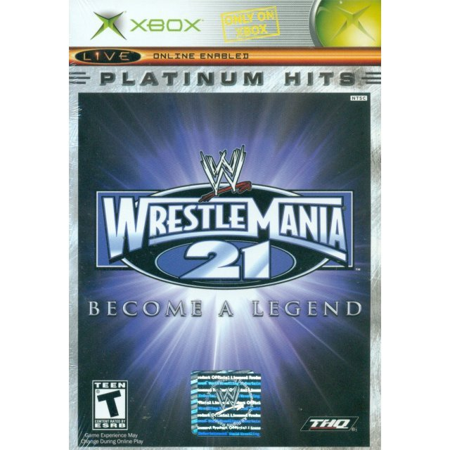 WWE WrestleMania 21 (Platinum Hits)